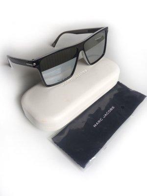 Marc Jacobs Occhiale da sole spigoloso bianco-nero Acetato