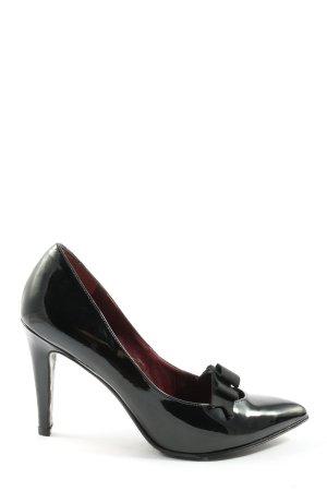 Marc Jacobs Spitse pumps zwart zakelijke stijl