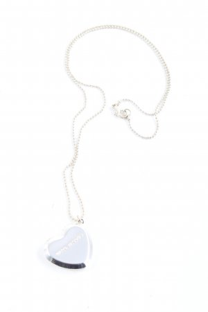 Marc Jacobs Statement Necklace silver-colored casual look