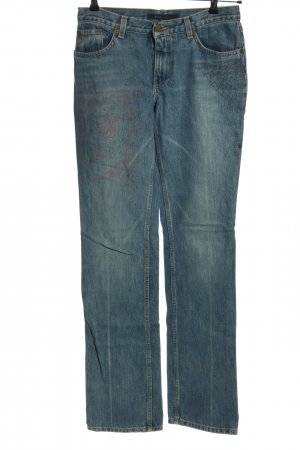 Marc Jacobs Straight Leg Jeans blue casual look