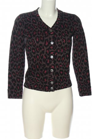 Marc Jacobs Strick Cardigan Allover-Druck Casual-Look