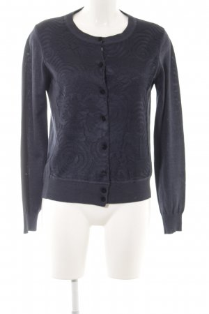 Marc Jacobs Strickjacke blau Webmuster Casual-Look