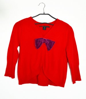 Marc Jacobs Cardigan in maglia rosso-viola Mohair