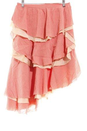 Marc Jacobs Warstwowa spódnica łosowiowy-kremowy Ekstrawagancki styl
