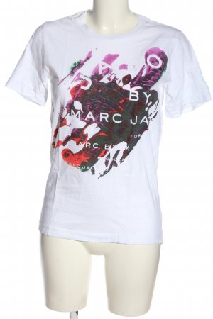 Marc Jacobs T-shirt abstract patroon casual uitstraling