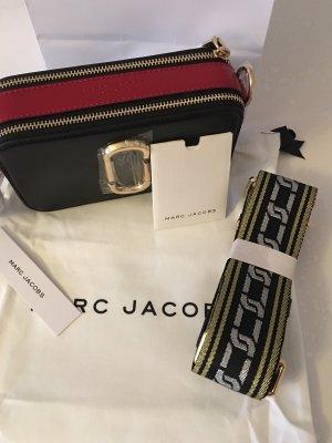 Marc Jacobs Borsa a spalla nero-rosso