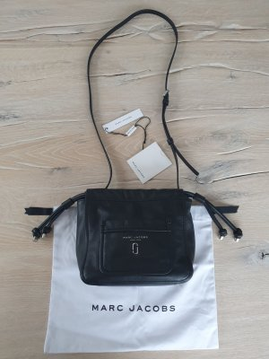 Marc Jacobs Crossbody bag black-silver-colored leather