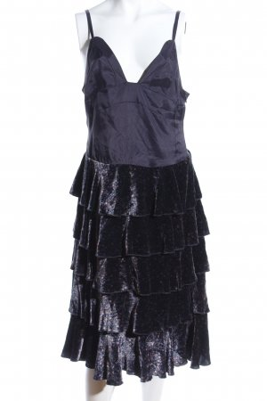 Marc Jacobs Trägerkleid schwarz extravaganter Stil