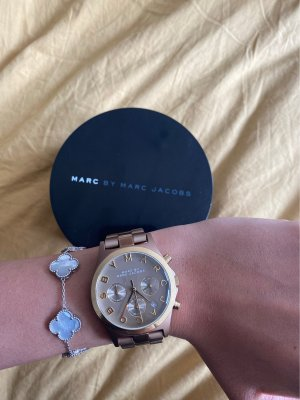 Marc Jacobs Watch With Metal Strap bronze-colored-gold-colored