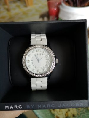 Marc Jacobs Analog Watch white