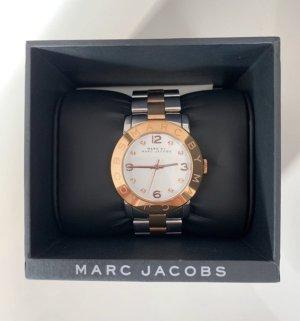 Marc by Marc Jacobs Horloge met metalen riempje roségoud-zilver