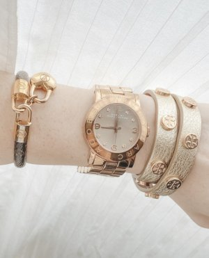 Marc Jacobs Reloj analógico color rosa dorado-crema