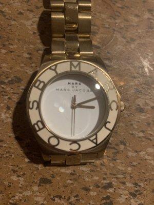 Marc by Marc Jacobs Reloj con pulsera metálica color oro-blanco
