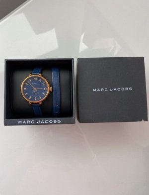 Marc Jacobs Reloj analógico azul-color oro