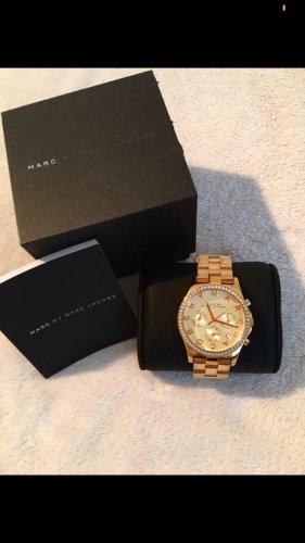 Marc Jacobs Uhr Gold Strass MBM3105