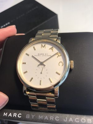 Marc by Marc Jacobs Watch With Metal Strap gold-colored