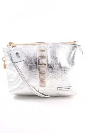 Marc Jacobs Crossbody bag silver-colored wet-look
