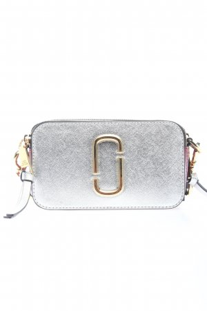 "Marc Jacobs Gekruiste tas ""Snapshot Small Camera Bag"" zilver"