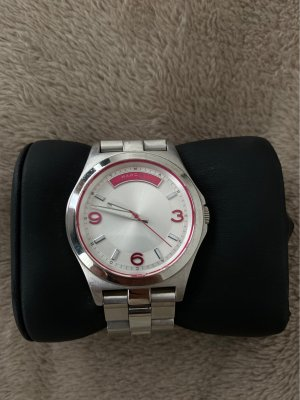 Marc by Marc Jacobs Watch With Metal Strap silver-colored
