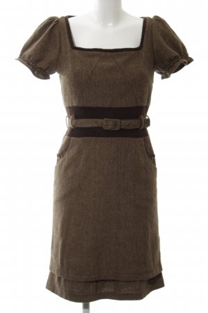 Marc Jacobs Woolen Dress brown-black business style