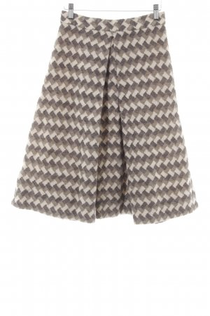 Marc Jacobs Jupe en laine motif en zigzag style classique
