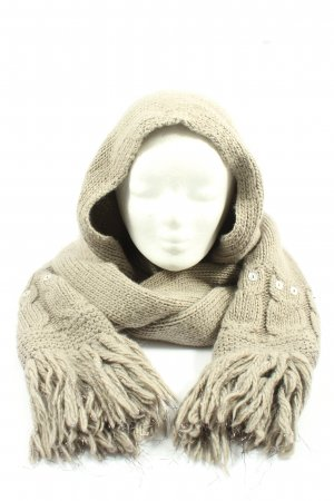 Marc Jacobs Woolen Scarf cream cable stitch casual look