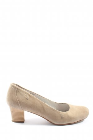 MARC Klassische Pumps creme Casual-Look