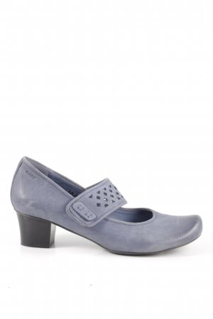 MARC Mary Jane pumps blauw casual uitstraling