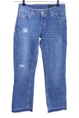 Marc O'Polo 3/4 Jeans blau Casual-Look