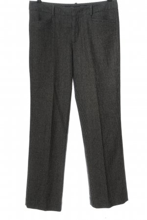 Marc O'Polo 7/8 Length Trousers light grey-black allover print casual look