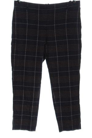 Marc O'Polo Pantalone a 7/8 motivo a quadri stile casual