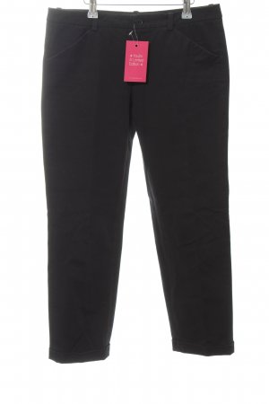 Marc O'Polo 7/8 Jeans schwarz Business-Look