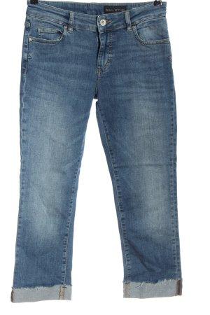 Marc O'Polo Jeansy 7/8 niebieski W stylu casual