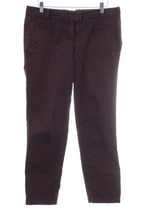 Marc O'Polo 7/8 Jeans purpur Logo-Applikation