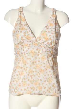 Marc O'Polo A-Linien Top weiß-creme Allover-Druck Casual-Look