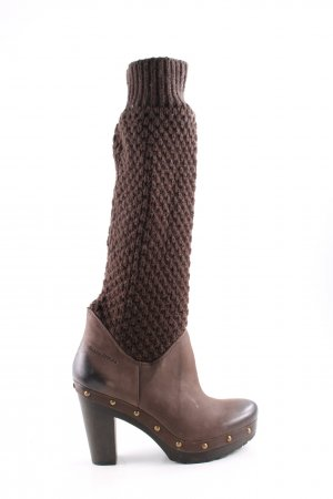 Marc O'Polo Absatz Stiefel braun Casual-Look