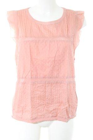 Marc O'Polo ärmellose Bluse pink Casual-Look