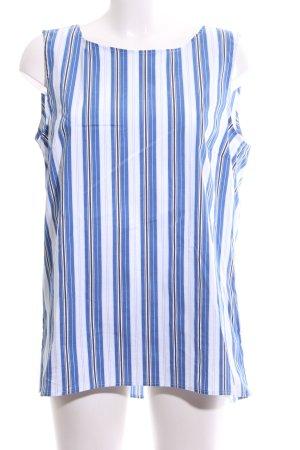 Marc O'Polo ärmellose Bluse Streifenmuster Business-Look