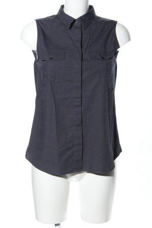 Marc O'Polo ärmellose Bluse schwarz Casual-Look