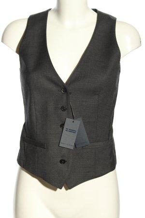 Marc O'Polo Chaleco de vestir gris claro-negro moteado estilo «business»