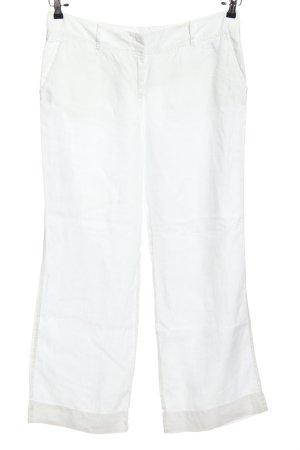 Marc O'Polo Pantalon «Baggy» blanc style décontracté