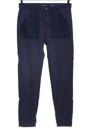 Marc O'Polo Pantalón abombado azul lyocell