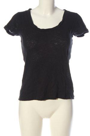 Marc O'Polo Basic-Shirt schwarz Casual-Look