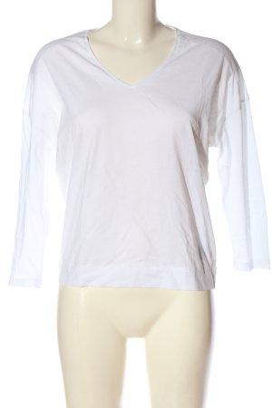 Marc O'Polo Basic-Shirt weiß Casual-Look