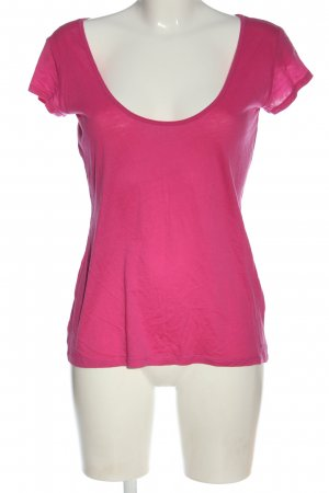 Marc O'Polo Basic-Shirt pink Casual-Look