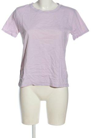 Marc O'Polo Basic-Shirt lila Casual-Look