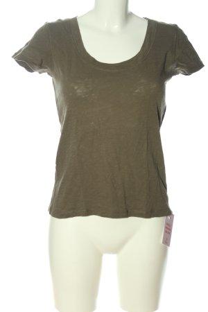 Marc O'Polo Basic-Shirt khaki Casual-Look