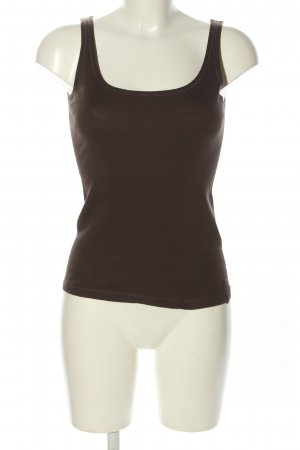 Marc O'Polo Basic Top braun Casual-Look
