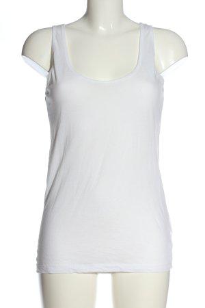 Marc O'Polo Top basic bianco stile casual