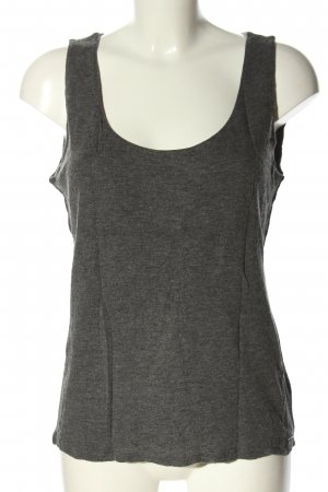 Marc O'Polo Basic Top hellgrau meliert Casual-Look